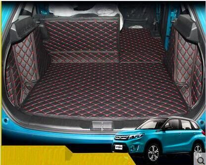 High quality! Special trunk mats for New Suzuki Vitara 2017 waterproof boot carpets cargo liner for Vitara 2016,Free shipping
