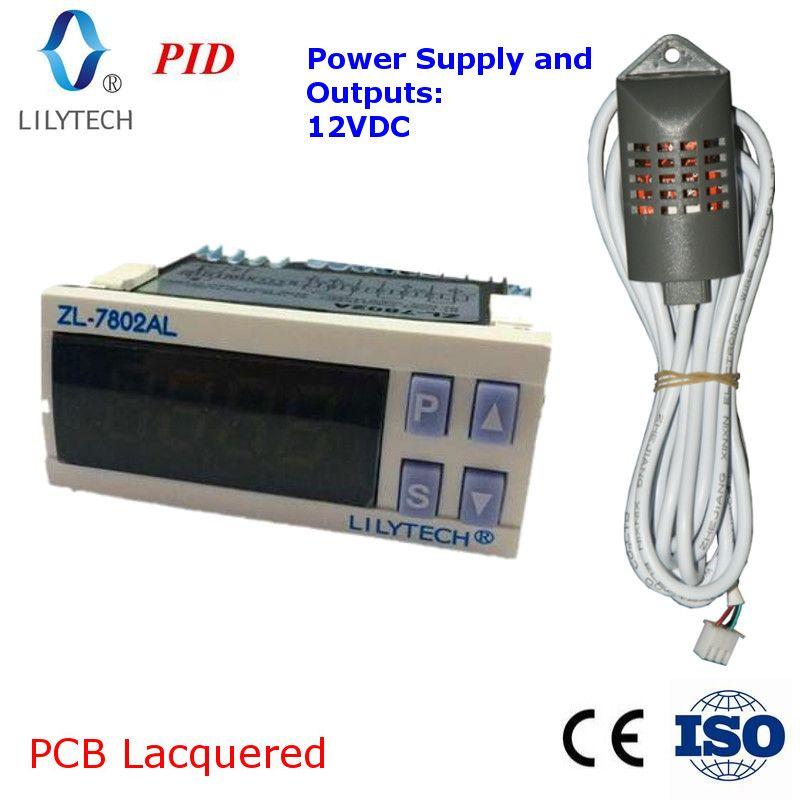 ZL-7802AL, 12VDC, PID Temperatur Feuchtigkeit inkubator, Multifunktionale Automatische Inkubator, Inkubator Controller, Lilytech