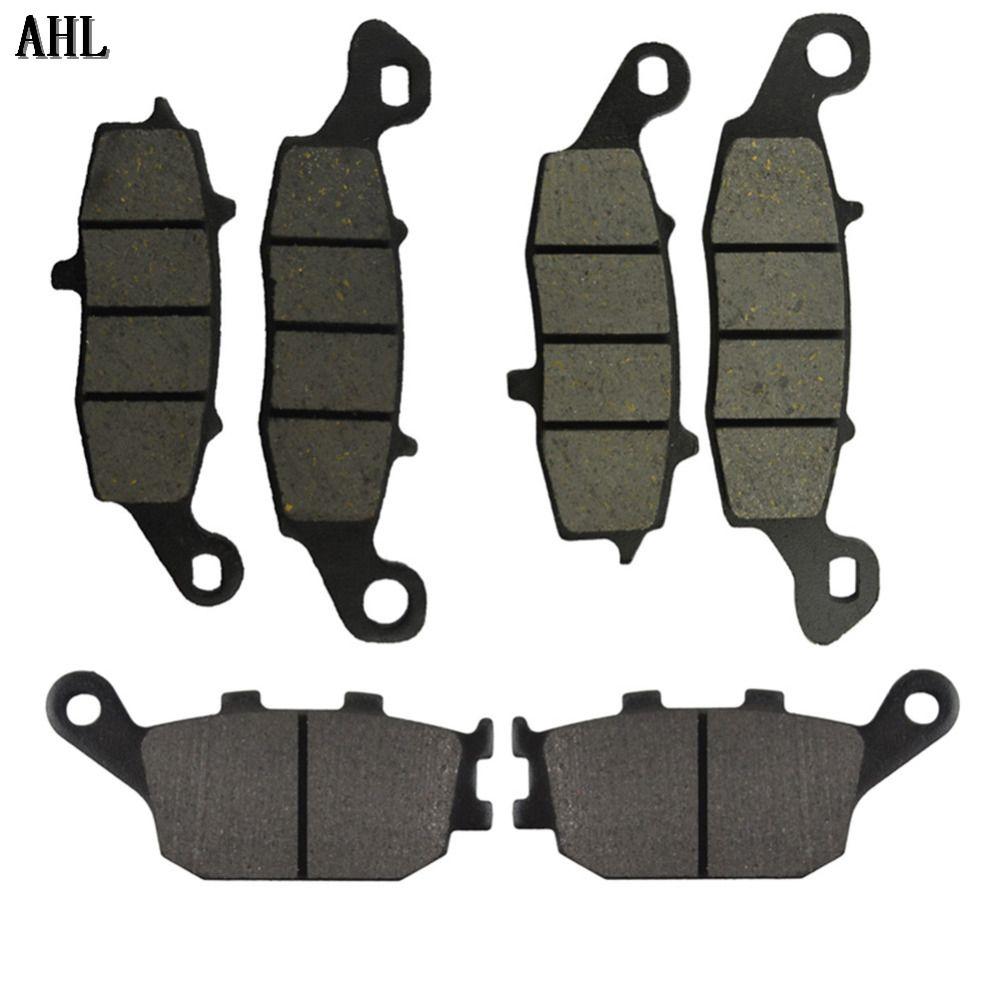 Motorcycle Front and Rear Brake Pads for Suzuki SV650 DL650 2004-2011 V-strom 1000 DL1000 2002-2011 SV400