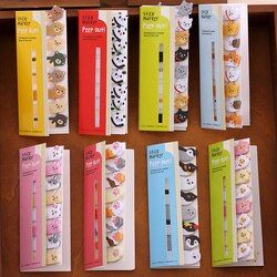 Mini lindo Kawaii animales de dibujos animados gato Panda Memo Pad notas adhesivas Memo Notebook papelería Nota de papel pegatinas School Supplies