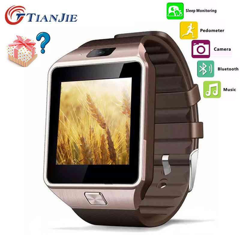 Умные часы для взрослых Smart Watch Мода Smart Watch dz09 Все совместимые электронная Smart Watch