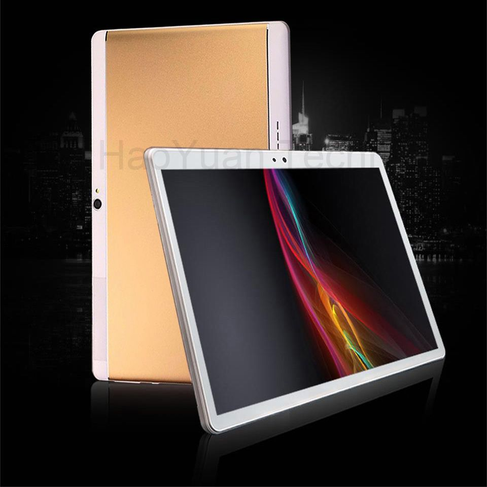2018 New 10 inch 4G Tablets Octa Core tablet Android 7.0 4+64GB ROM phone call tablet pc 1920*1200 WiFi GPS Bluetooth gifts 10.1