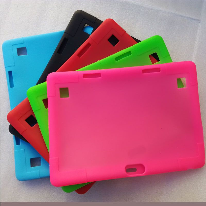 Soft silicone case for VOYO Q101 4G / i8 10.1inch tablet ,Drop resistance against impact shell for 10.1inch onda V10 3G tablet