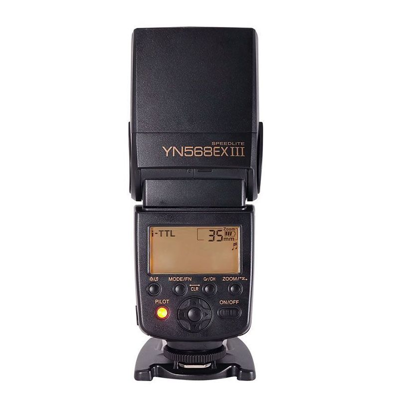 YONGNUO Upgraded YN568EX III TTL HSS Flash Speedlite For Nikon D810 D800 D750 D610 D7200 D7100 D7000 D5300 D5200 D3200 D90