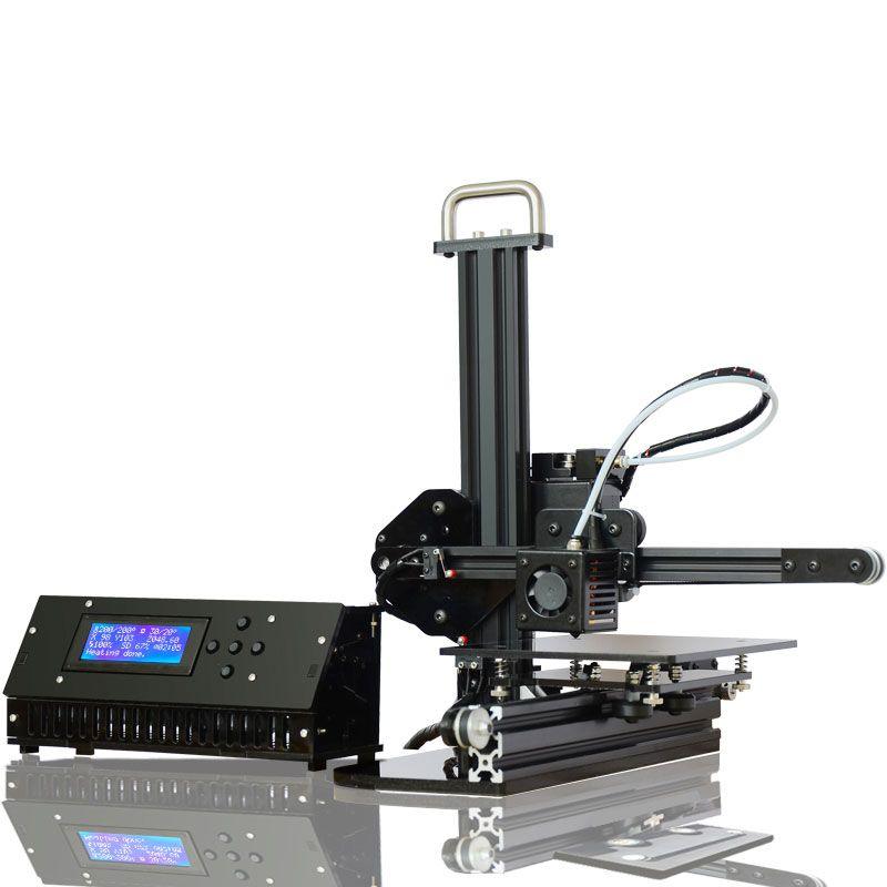 TRONXY X1 3D Printer I3 impresora Pulley Version Linear Guide imprimante 3d printer DIY two nozzle as a gift
