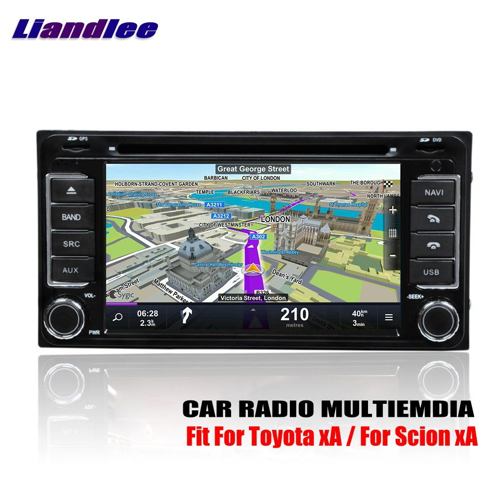 Liandlee For Toyota xA / For Scion xA 2004~2006 Android Car Radio CD DVD Player GPS Navi Navigation Maps Camera OBD TV HD Screen