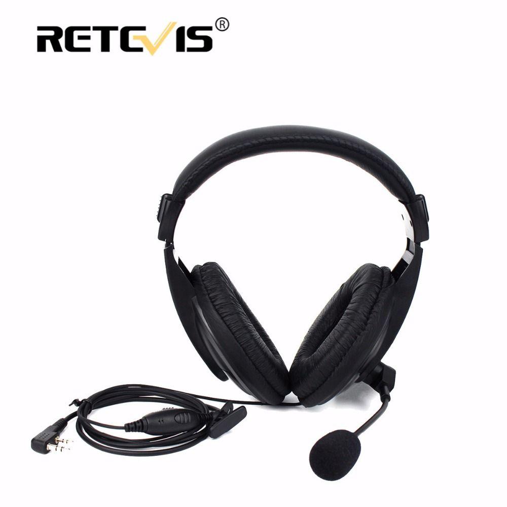 Retevis R-114 PTT VOX Earpiece Walkie Talkie Headset For Kenwood For Baofeng UV-5R Bf-888S For Retevis H777 RT5R RT7 For Puxing
