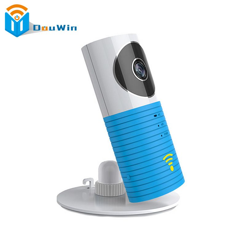 Clever Dog Wireless Baby Monitor Intelligent Alerts Nightvision Intercom Support IOS Android Video Babyfoon Security IP Camera