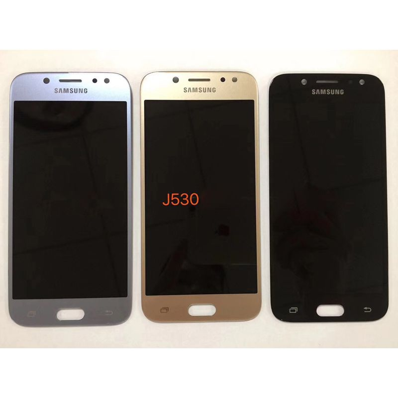 Super Amoled Brightness Adjustment LCD For Samsung Galaxy J5 2017 J530 J530F AMOLED LCD Display Touch Screen Digitizer Assembly