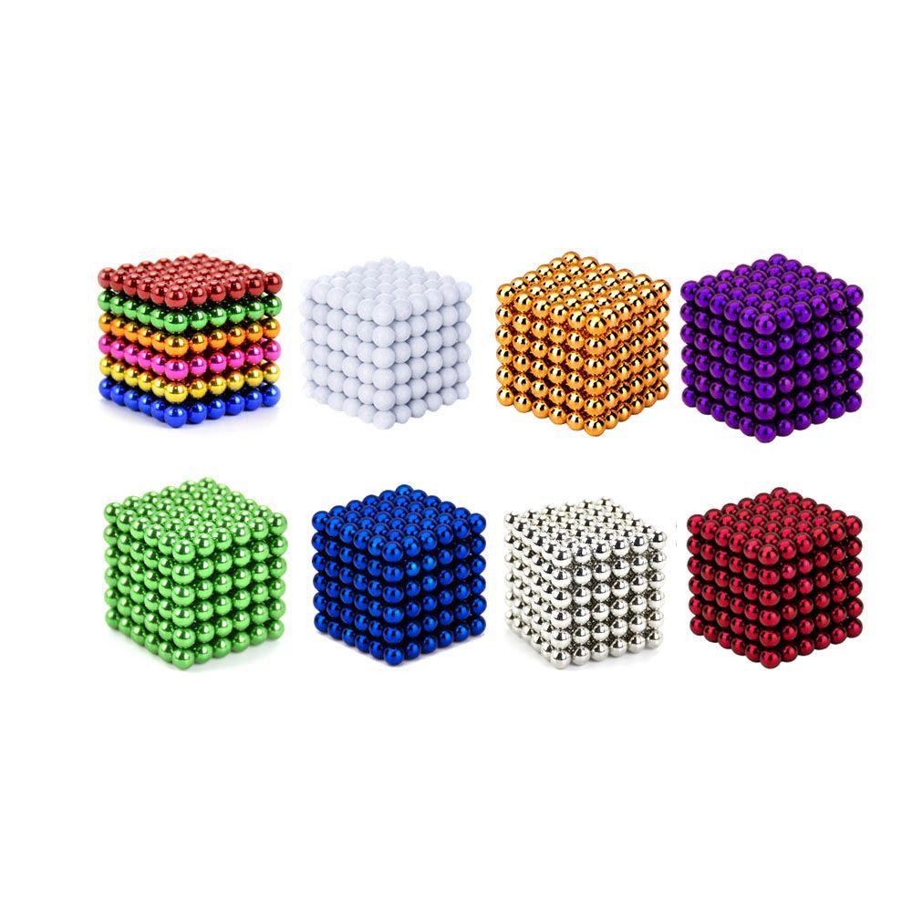 1 set 5mm 216 pcs Creative magnet aimants en néodyme imanes magie Forte NdFeB coloré buck balle Fun jouets Pour Adultes enfants