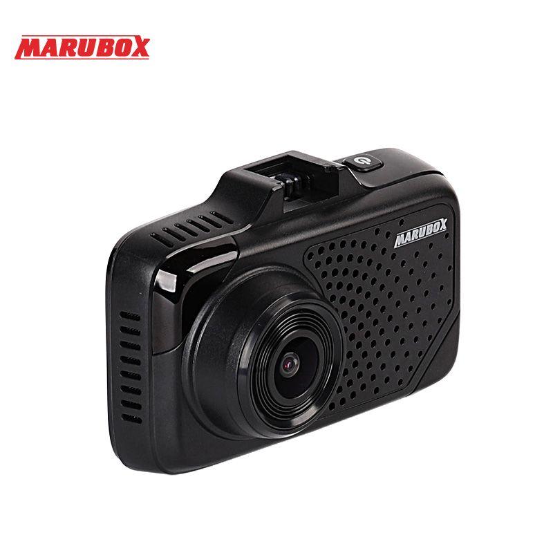 MARUBOX M650R 2018 New Car DVR Radar Detector GPS 3 In 1 Dash Camera Super HD 1296P Video Registrator Recorder G-sensor Dash Cam