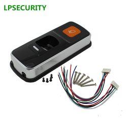 LPSECURITY standalone RFID kontrol akses pembaca sidik jari biometrik sidik jari akses kontrol pintu tunggal KUNCI pembuka