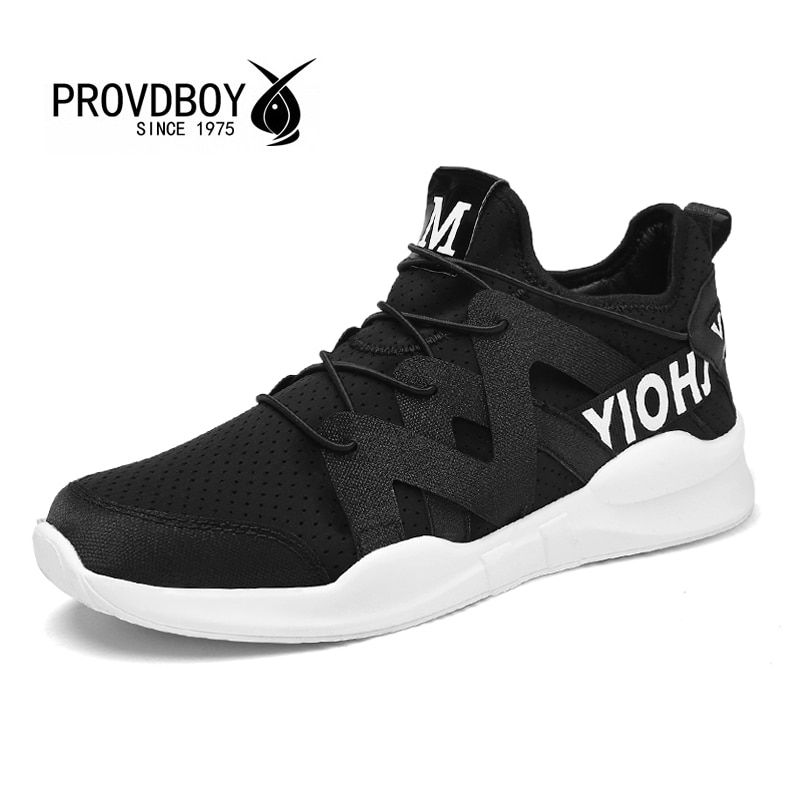 Provdboy Breathable Sport Shoes Men PU Lace-up Spring2017 Hard Court Low Beginner Mens Summer Sneakers Medium(b,m) 10km Adult