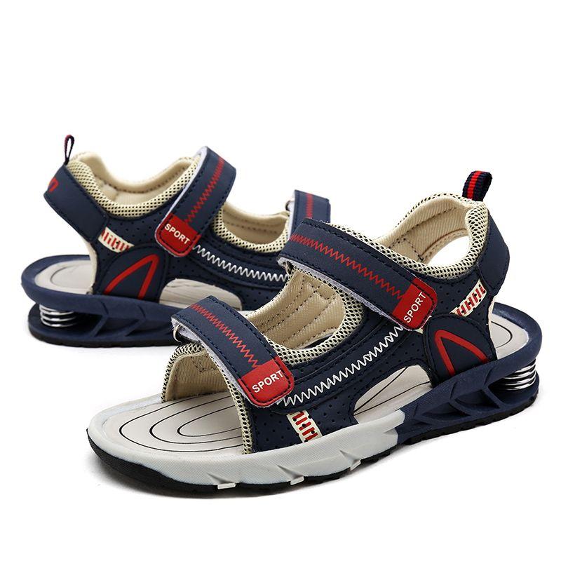 Offre spéciale 2019 été enfants plage sandales chaussures de mode pour les filles taille 25-38 garçons chaussures enfants antidérapant sandalias bébé sports