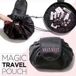 Voyage sac cosmétique cordon cosmétique sac femmes de stockage de voyage dame chaîne de sac d'emballage pour cosmétiques/Articles De Toilette