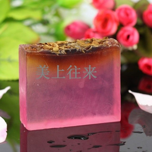 Rose essential oil soap wild rose camilla handmade soap bath soap G03