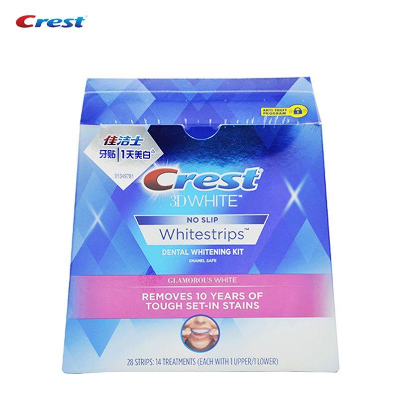 Crest whitestrips передовых печать Уход за полостью рта Профессиональный отбелить эффекты белые полоски устное гигиены Отбеливание зубов