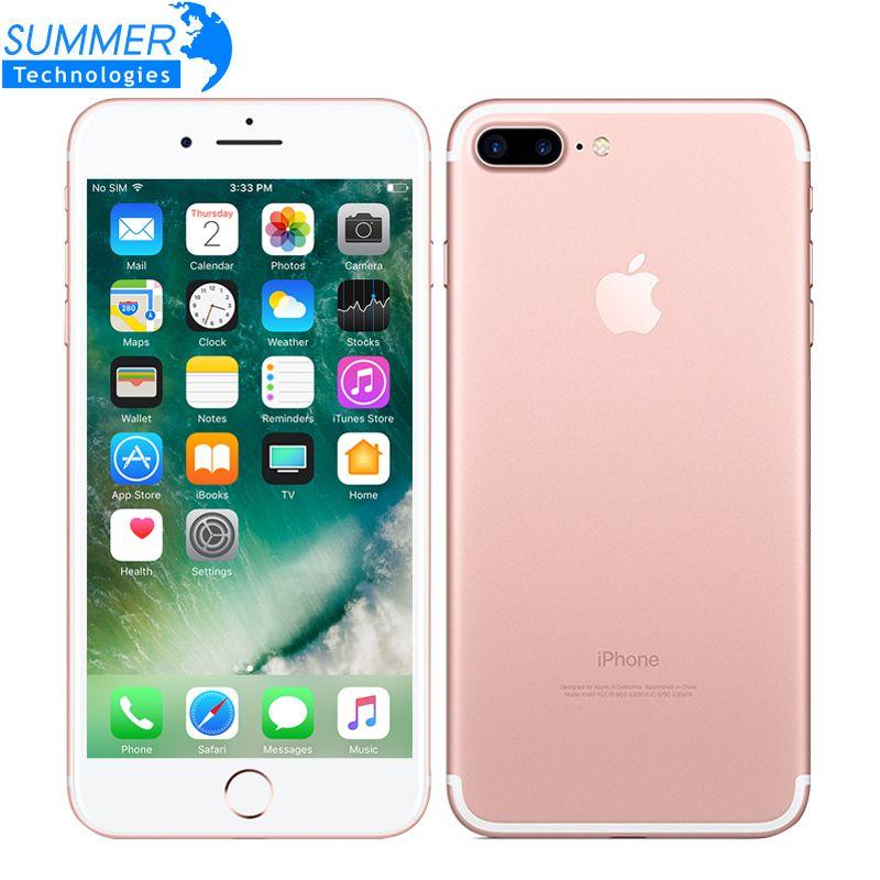 Apple iPhone 7 Plus Quad-Core 5.5 inch 3GB RAM 32/128GB/256GB IOS LTE 12.0MP Camera iPhone7 Plus Fingerprint Smartphone