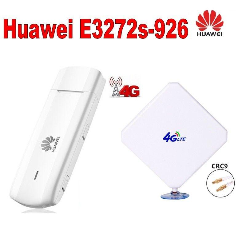 Nouveau 35dBi Signal amplificateur antenne CRC9 connecteur y compris 4G large bande Modem Huawei E3272
