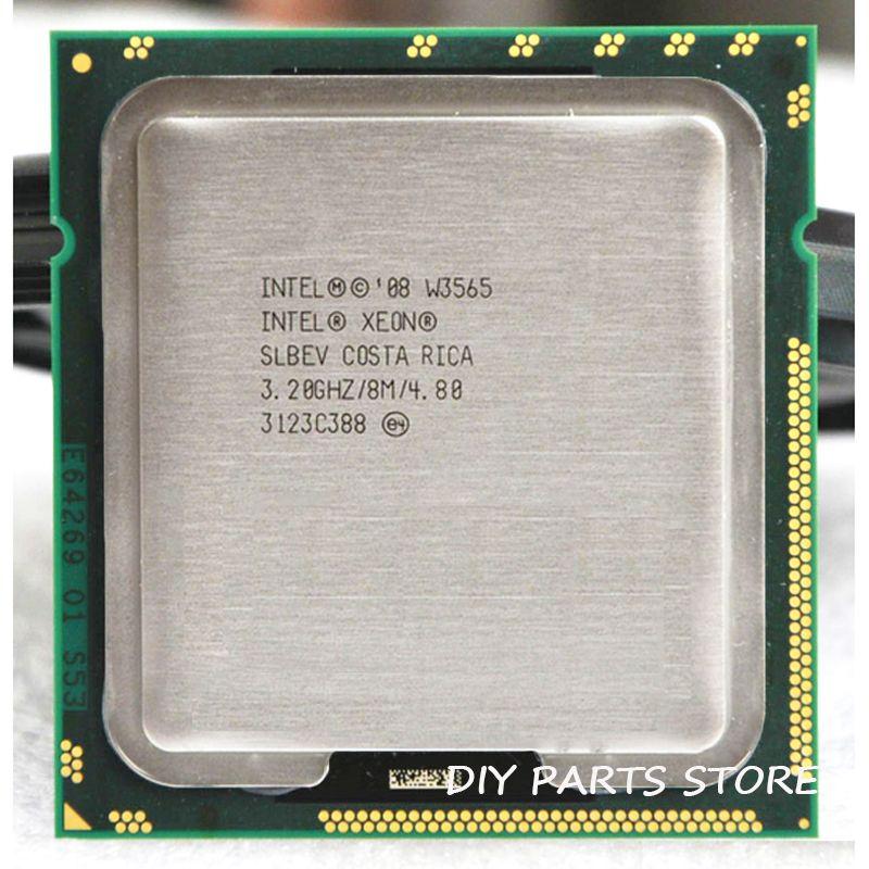 INTEL XONE W3565 Quad core 3.2 MHZ LeveL2 8 M 4 core TRAVAIL POUR lga 1366 montherboard