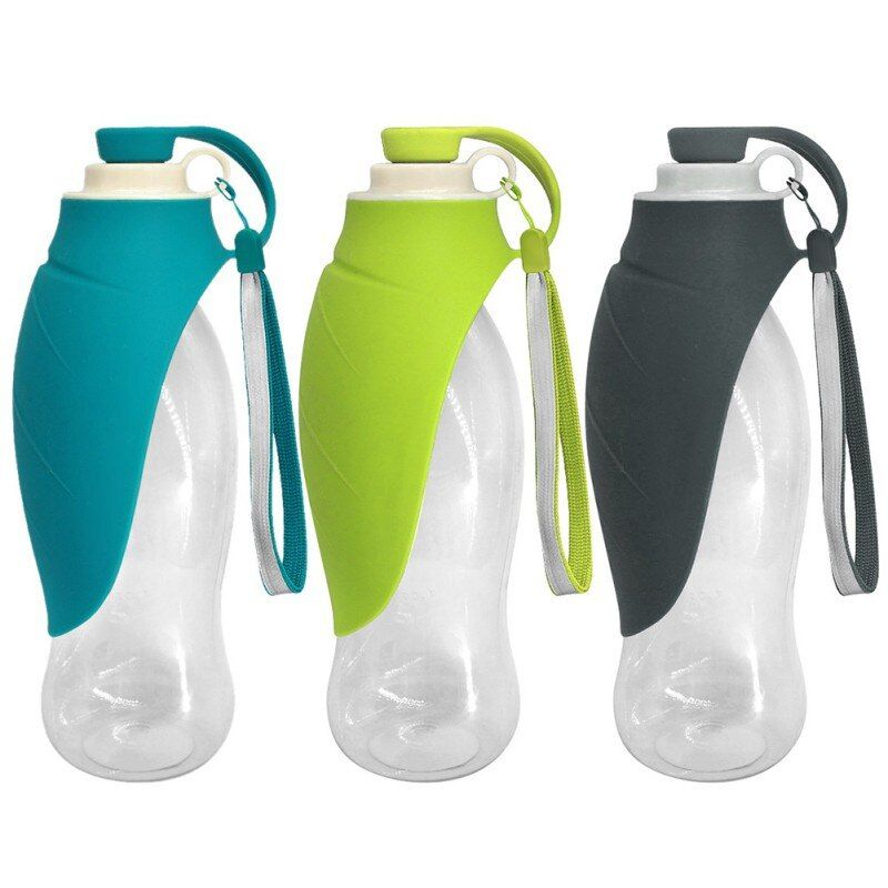 Portable Pet Dog Water Bottle Expandable Silicone Drinking Bottle Travel Dog Bowl For Puppy Cat Outdoor Water Dispenser
