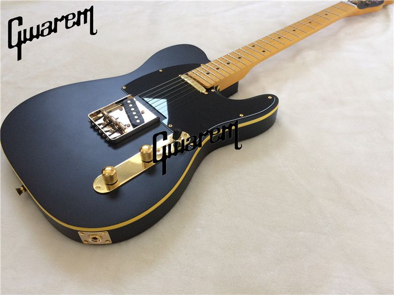 Electric guitar/Gwarem luck star tele guitar/yellow color/guitar in china