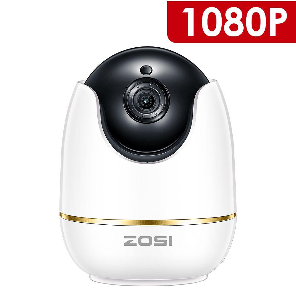 ZOSI 1080 p HD Wifi Sans Fil de Sécurité À Domicile Caméra IP 2.0MP IR Réseau CCTV Caméra de Surveillance avec Deux-façon audio Baby Monitor