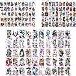 100X Palsu Sementara Tato Bahu Lengan Bawah Transfer Stiker Tato Hitam Totem Hot Sexy Spray Tahan Air Tattoo Desain