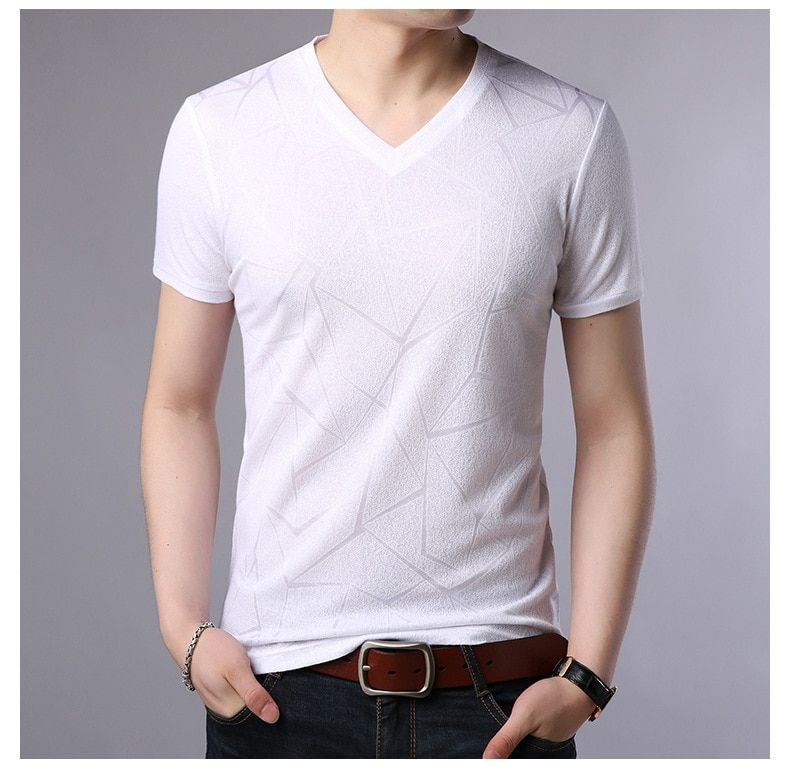 The sunshine men's T-shirt, which is popular with breathable cotton in 2018