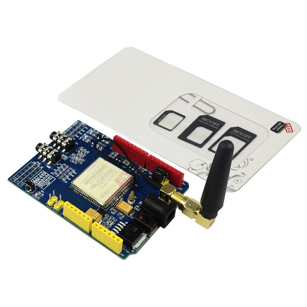 SIM900 GPRS/GSM Conseil de Développement Bouclier Quad-Bande Module pour arduino Compatible avec UNO MEGA 2560