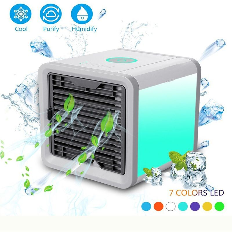 Personal Space Air Coolers Air Fresheners Arctic Machine Desk Mini Air Conditioner Cooler For Home Office Children Room Bedroom