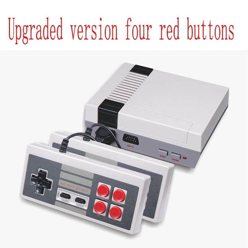 AV Port Mini Handheld Retro Classic Game Player Family TV Video Game Console Childhood Dual Gamepad Complete with 620 Games