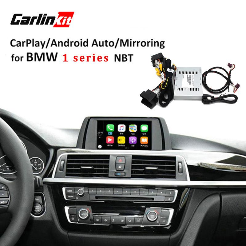 Carlinkt Reversing Camera Interface Module for BMW 1 Series With NBT System 6.5'' Screen With Carplay Mirroring