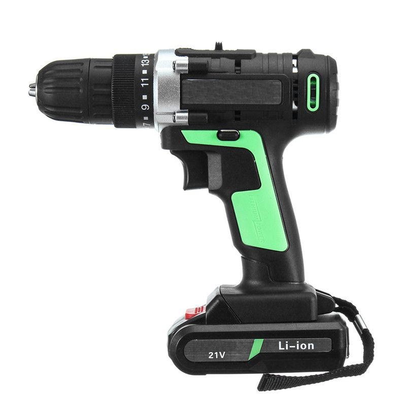 21V additional lithium-ion Battery Cordless Electric hand Drill hole electrical Screwdriver driver Wrench power tools