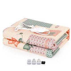 Теплое одеяло электроодеяло 220 вельветовое одеяло двойная Манта электрическое отопление одеяло ковры с подогревом коврик