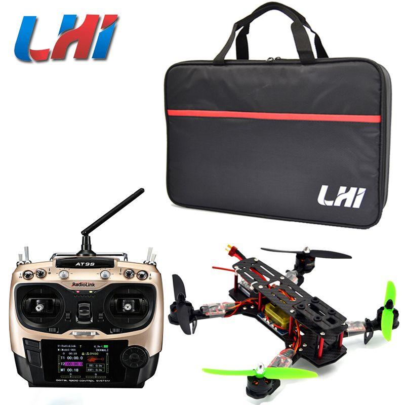 Qav250 kit RTF quadcopter Rahmen QAV 250 Racing CC3D Flight Controller MT2204 2300KV Motor Simonk fpv12A ESC 5030 propeller AT9s