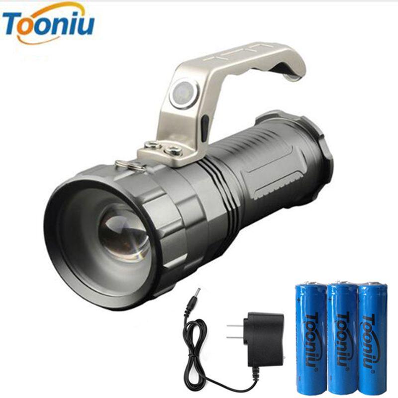 Puissant lampe de poche LED CREE XM-L T6 2000LM 3 Modes torche recherche Camping chasse pêche mineur lampe lanterne lumière