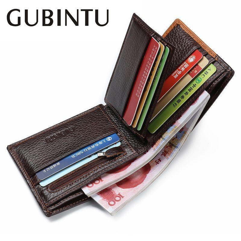 Célèbre marque de luxe en cuir véritable hommes portefeuilles monnaie poche Zipper hommes portefeuille en cuir avec porte-monnaie portefeuille cartera ZC8042