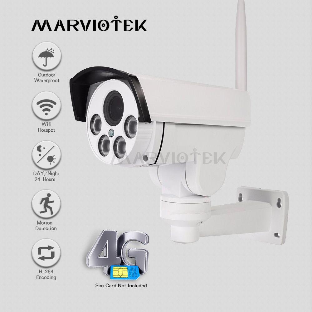 960 P 3G 4G SIM Karte Ip-kamera Im Freien PTZ 1080 P HD Gewehrkugel Kamera Drahtlose 4X Zoom pan Tilt Video Überwachung Mini Kamera HD IR