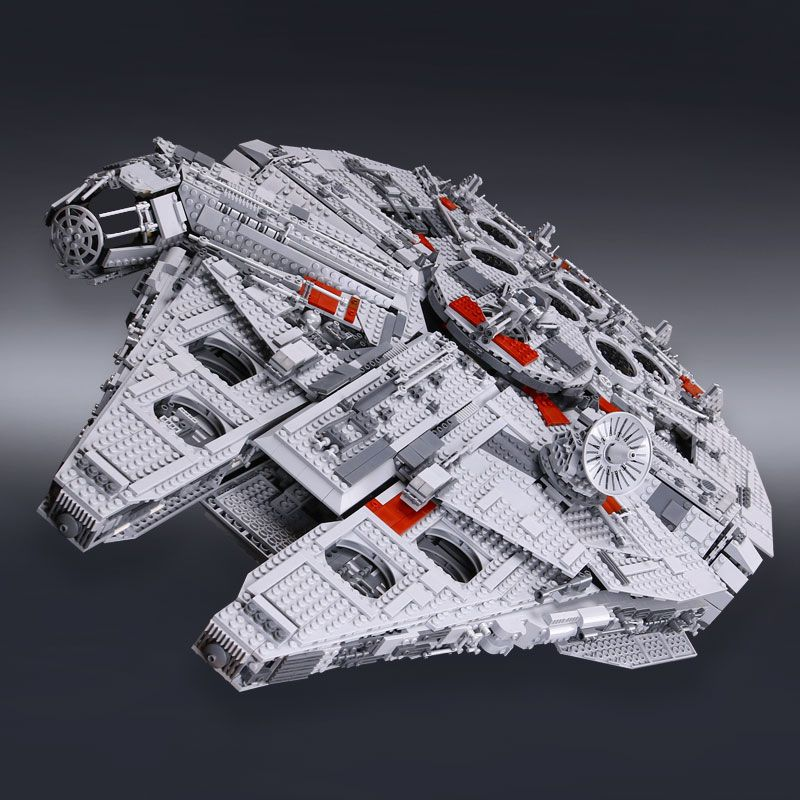 IN STOCK H&HXY 05033 5265Pcs Star Ultimate LEPIN Collector's wars Toy Millennium Model Falcon <font><b>Building</b></font> Blocks Bricks Gift 10179