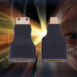 1 set  HDMI to Mini + HDMI to Micro HDMI HD Micro HDMI Adapter Converter Connector for Vedio TV for Xbox 360 HDTV 1080