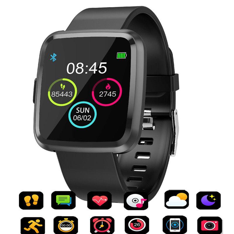 Y7P Smart Watch Men Heart Rate Monitoring Sphygmomanometer Fitness Bracelet waterproof Pedometer woman Smartwatch PK CY7 PRO