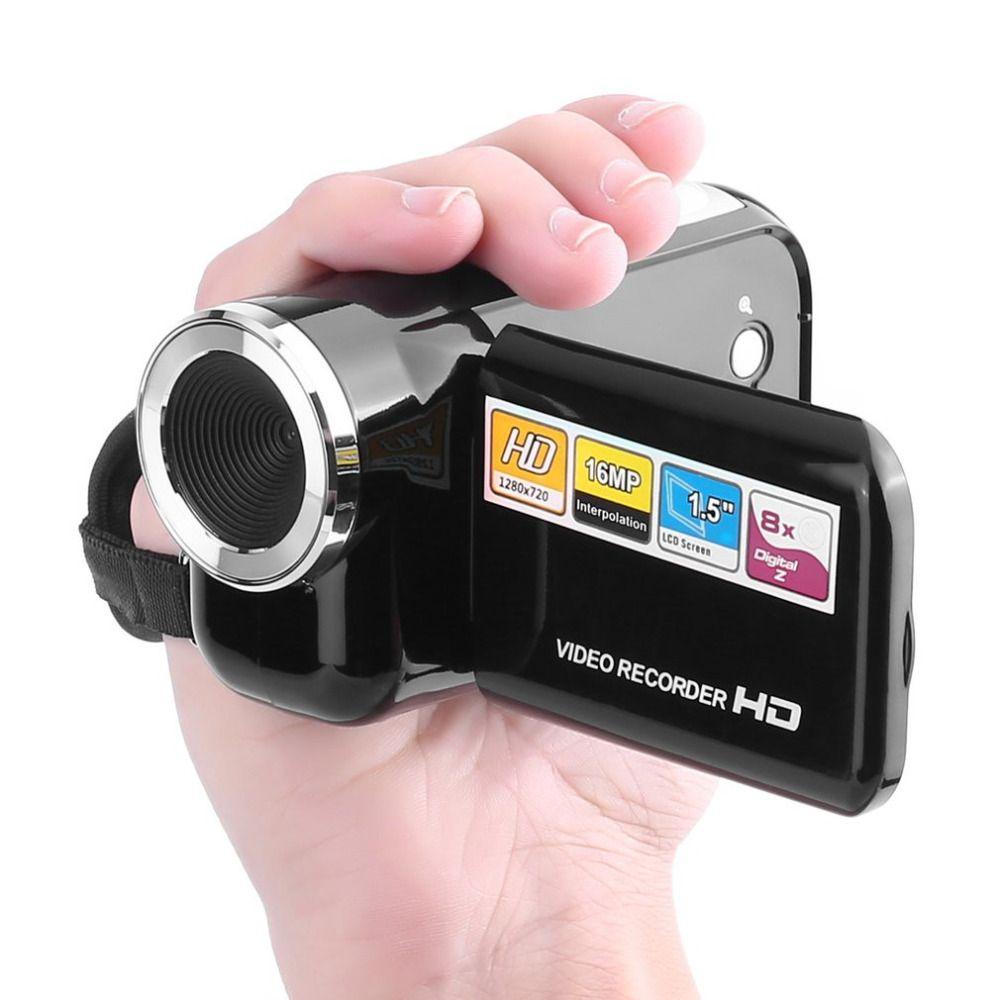 DV180 Camera Black 16MP Mini Video Camera With 1.5