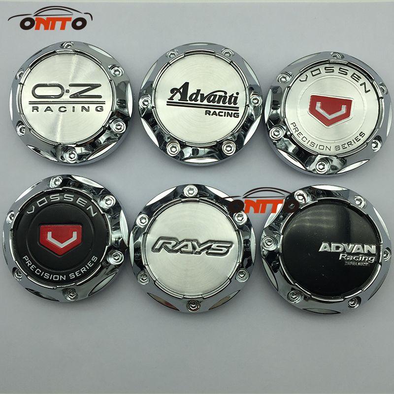 4pcs/set 65mm Wheel Center Cap Hub Cap for ADVAN ENKEI FOR VOSSEN Emblem VOLK RAYS WORK logo car styling