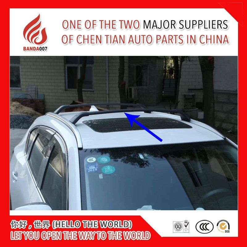 High quality load goods 1 Pair screw install Aluminium alloy roof rack rail cross bar for Mazda CX-5 CX5 2017 2018 17 18