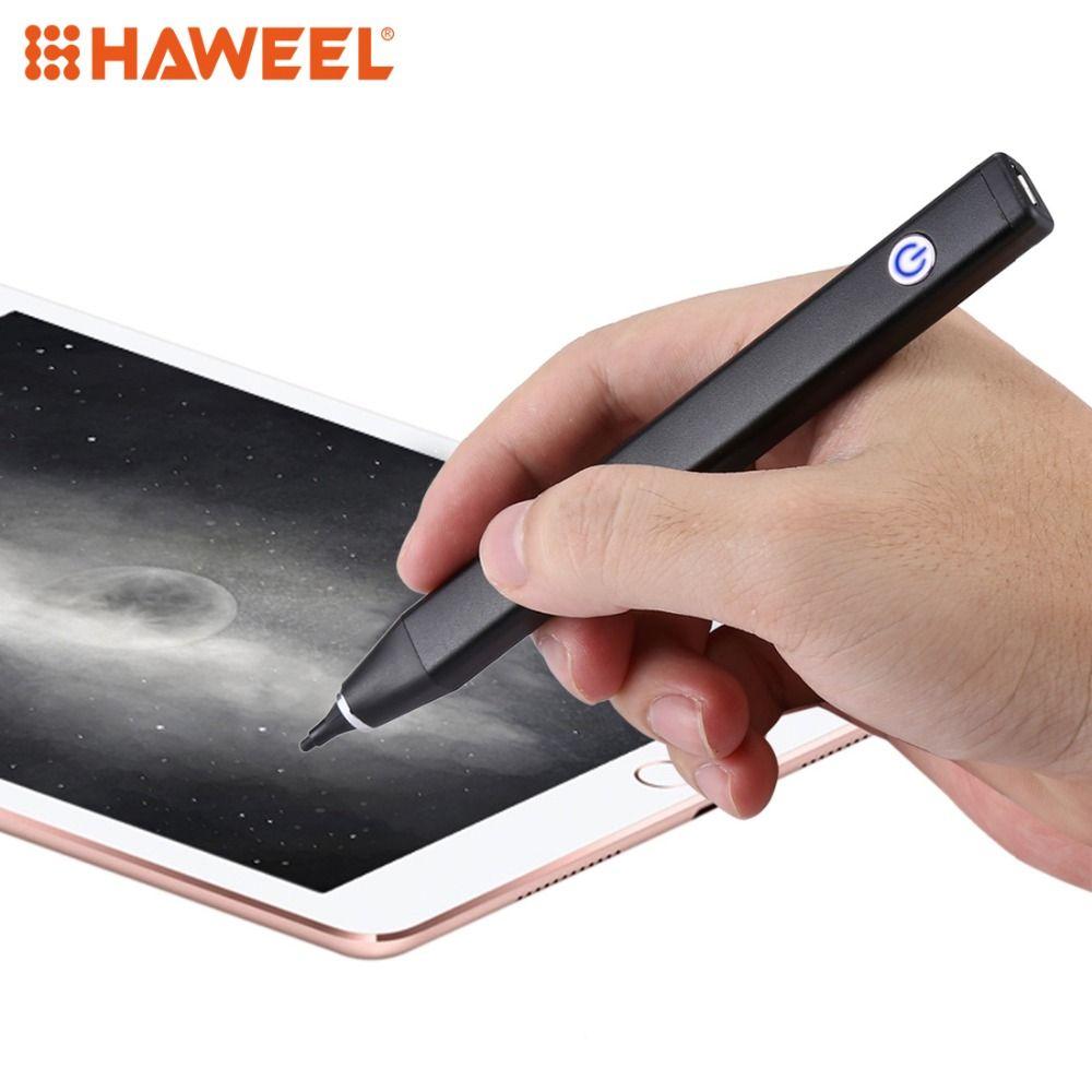 HAWEEL 2,3mm Super Nib Aktive Stylus Stift iPhone Stylus Stift Für iPhone/iPad Meisten Kompatibel und Effektivste APP