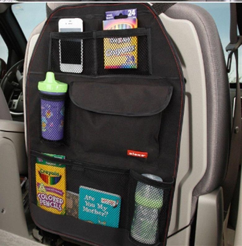 Sac de siège de voiture rangement Multi poche organisateur siège de voiture sac arrière accessoires de voiture