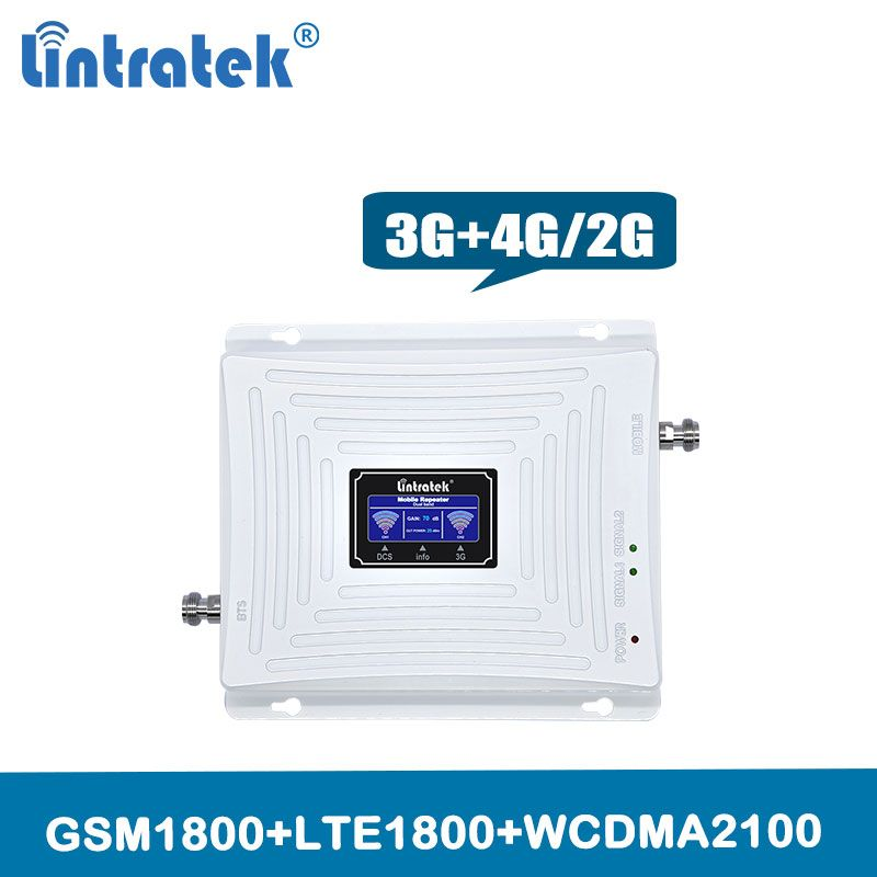 Signal Verstärker 3g 4g booster DUAL BAND Lte/Gsm 1800 HSDPA WCDMA 2100 mhz cellular signal zelle telefon repeater mit Lcd Display