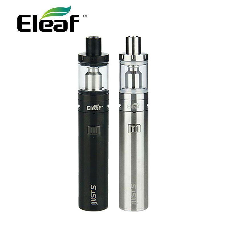 100% Original Eleaf iJust S Starter Kit with 3000mAh Battery & 4ml Top Filling Atomizer & EC/ECL Coils ijustS Vape Kit