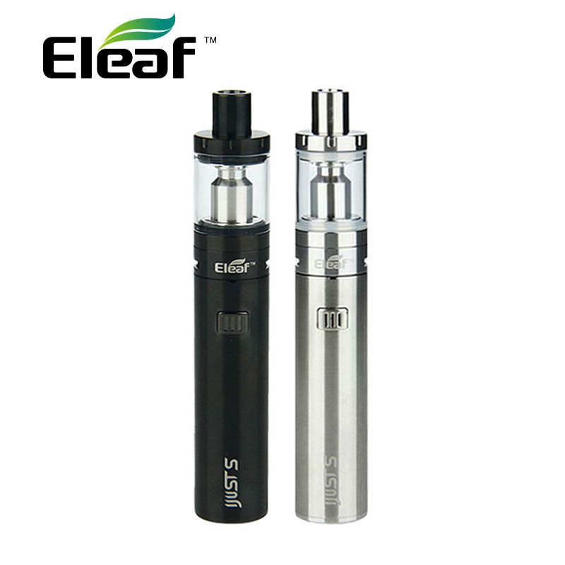100% Original Eleaf iJust S Starter Kit with 3000mAh Battery & 4ml Top Filling Atomizer & EC/ECL Coils ijustS Vape Kit